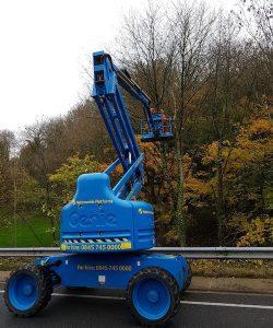 South Wales Motorway Maintenance D L Corran Tree Surgeons
